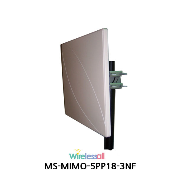MS-MIMO-5PP18-3NF 500m coverage 5GHz WiFi 18dB MIMO Directional Antenna