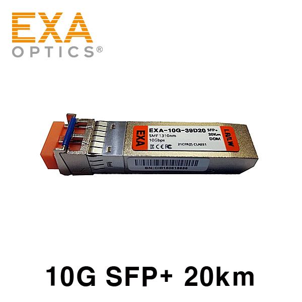 [EXA] MikroTik SFP+ S+31DLC20D 20km 호환 광모듈
