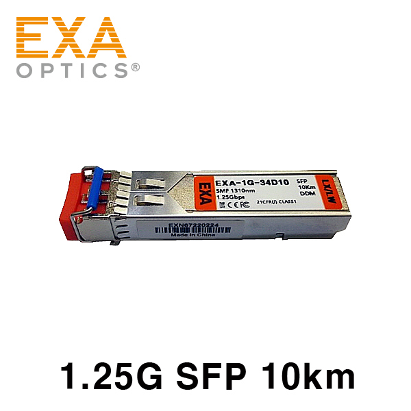 [EXA] CISCO SFP GLC-LH-SMD= 10km 互換 光トランシーバ