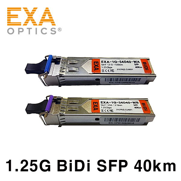 [EXA] Allied Telesis 1G BiDi AT-SPBD40-13 광모듈 세트