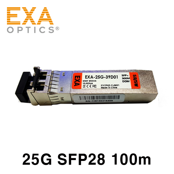 [EXA] Qlogic 25G SFP28-25G-SR 100m 호환 광모듈