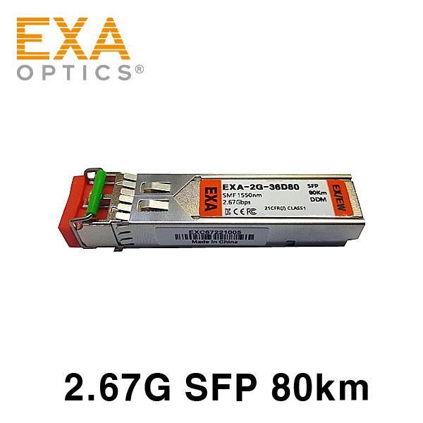 [EXA] Infinera SFP TOM-2.5GMR-LR2 80km Compatible Transceiver