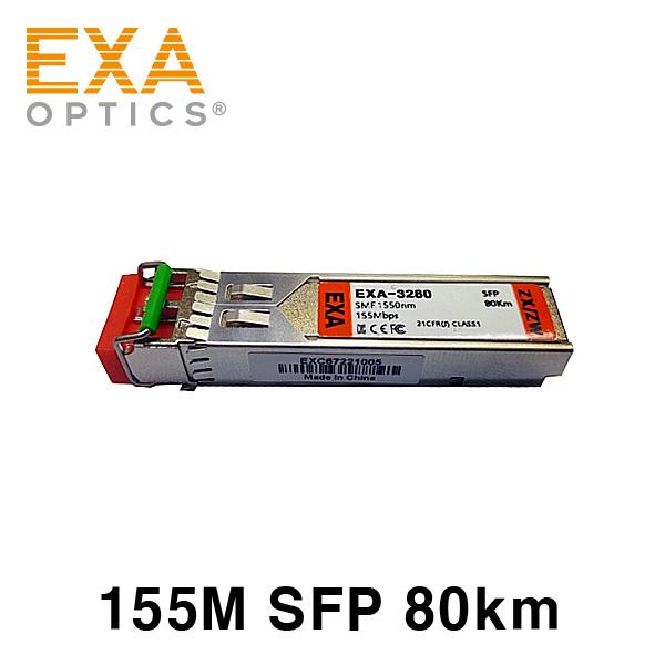 [EXA] MOXA 100Base SFP-1FELLC 80km 호환 광모듈