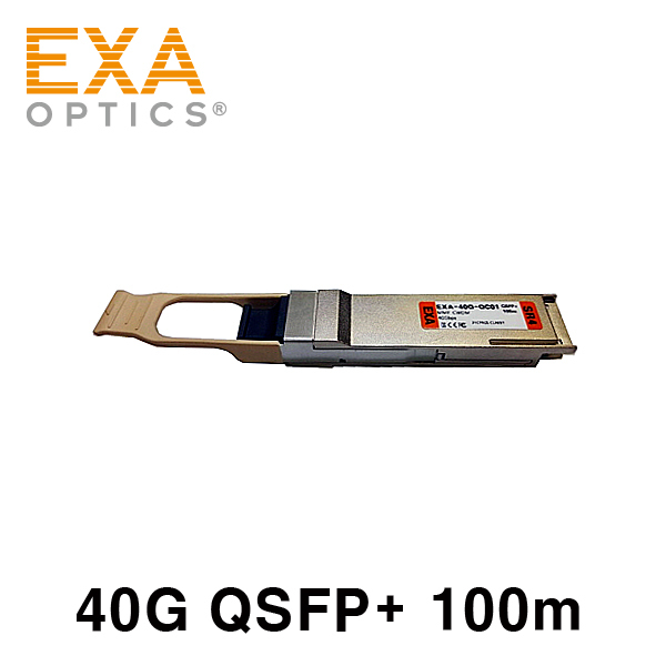 [EXA] HP QSFP+ SR4 720187-B21 互換 光トランシーバ