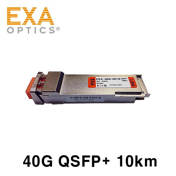 [EXA] Chelsio QSFP+ SM40G-LR 10km Compatible Transceiver