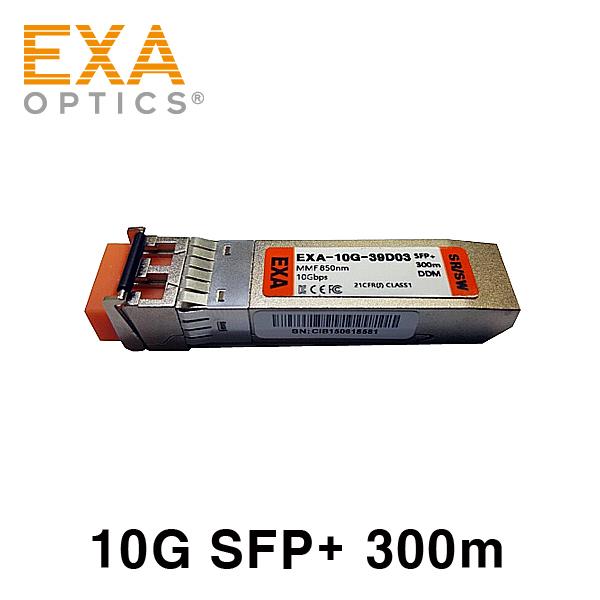 [EXA] 10G SFP+ SR/SW 300m MMF 光トランシーバ