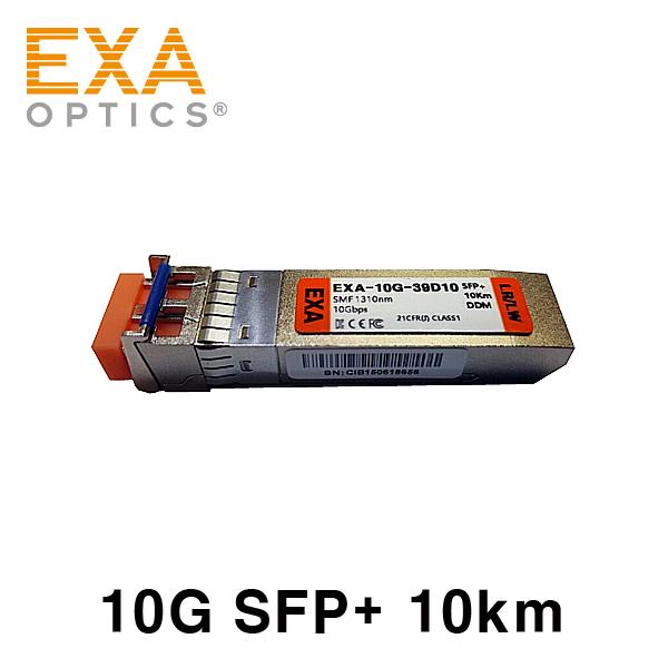 [EXA] 10G SFP+ LR/LW 10km SMF 光トランシーバ