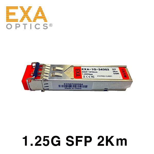 [EXA] 1.25G SFP-SX /SW 2km 光トランシーバ