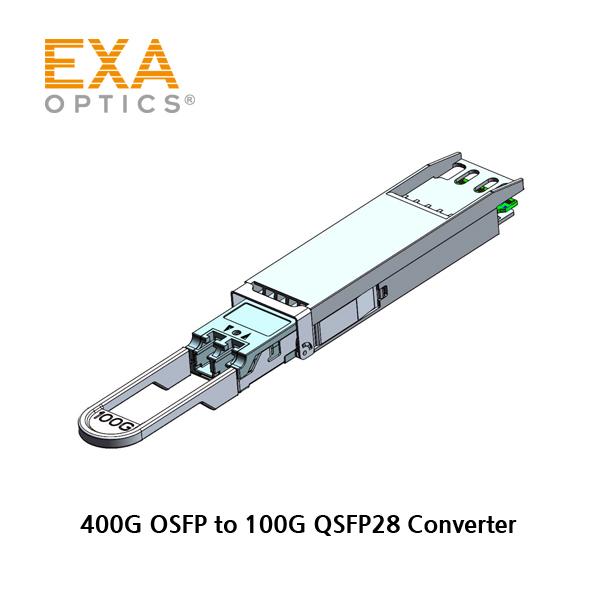 [EXA] 400G OSFP to 100G QSFP28 Conversion Converter