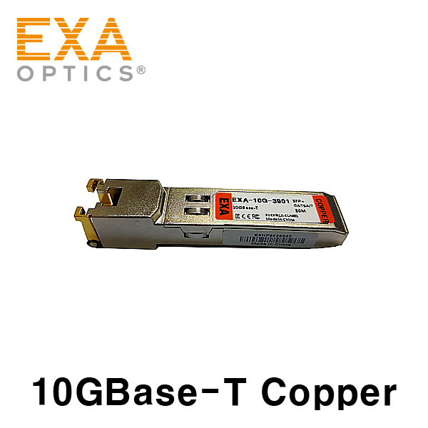 [EXA] 10GBase-T Copper SFP+ 30m Optical Transceiver- RJ45