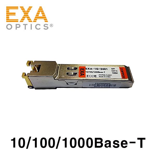 [EXA] 10/100/1000-T Copper SFP 光トランシーバ-RJ45