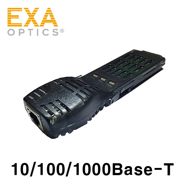 [EXA] 1000BASE-T GBIC 100m Optical Transceiver-RJ45