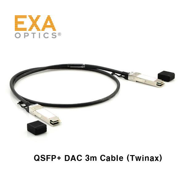 [EXA] 40G QSFP+ Passive DAC 3m Cable
