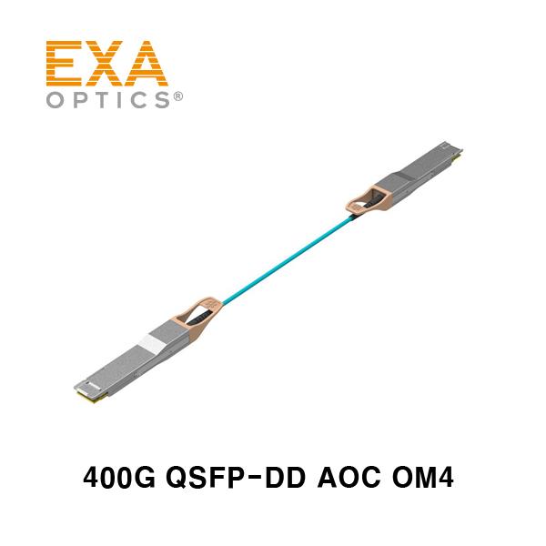[EXA] 400G QSFP-DD SR4 OM4 xxM 광케이블 주문제작