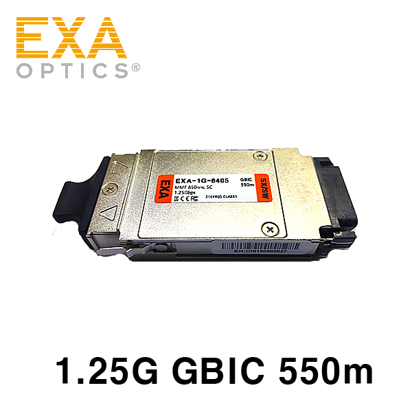 [EXA] GBIC 1000Base-SX 550m Optical Transceiver