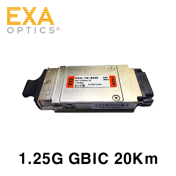 [EXA] GBIC 1000Base-LX 20km Optical Transceiver