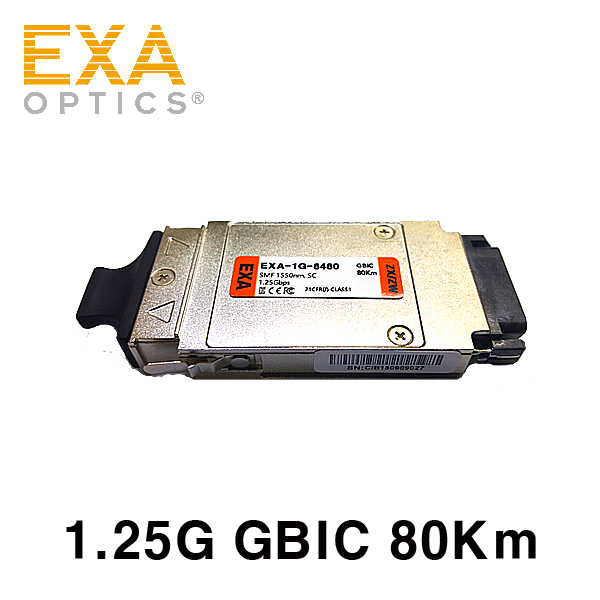 [EXA] GBIC 1000Base-ZX 80km Optical Transceiver
