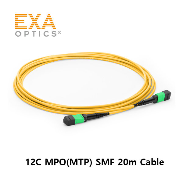 [EXA] 12C MPO-MPO SMF 20M Optical PatchCord