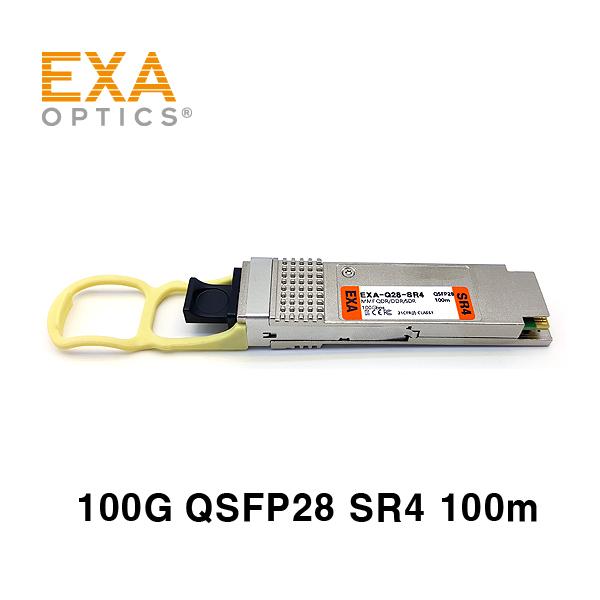 [EXA] 100G QSFP28 SR4 100m 멀티모드 광모듈