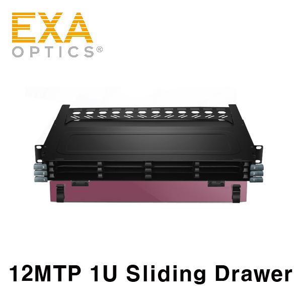 [EXA] TAP 카세트장착 1U 12포트 Sliding Drawer