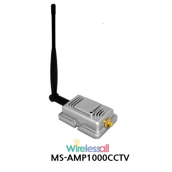 MS-AMP1000 2Km CCTV용 단방향 손실보상기