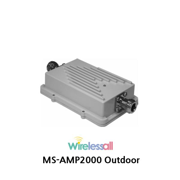 MS-AMP2000 5Km 2.4GHz WiFi 손실보상기
