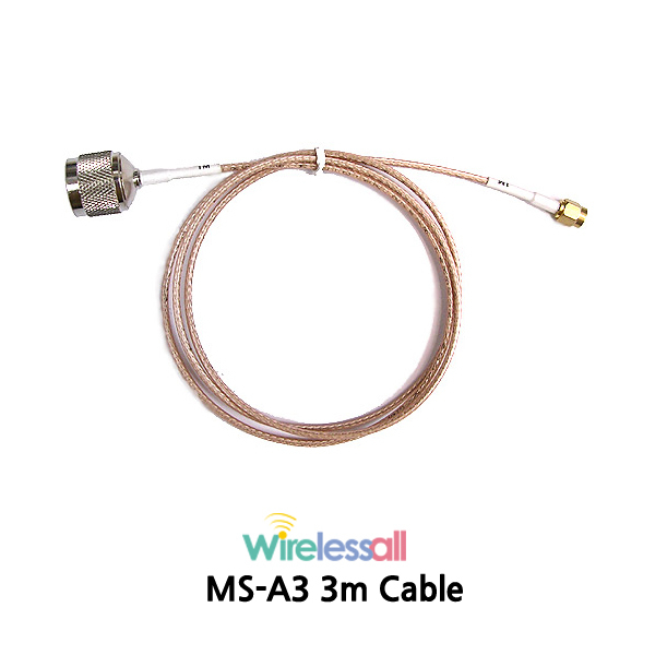 MS-A3 3m RG316 RF No Loss Cable-50 ohms