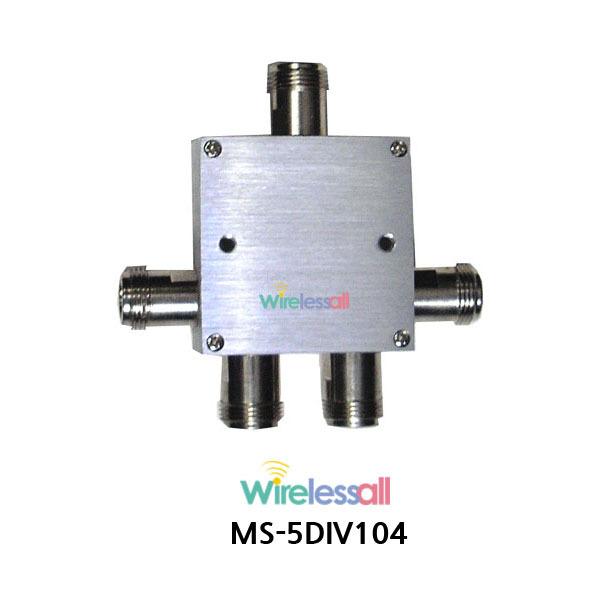 MS-5DIV104 1 to 4, 5GHz WiFi 無線信号分配器