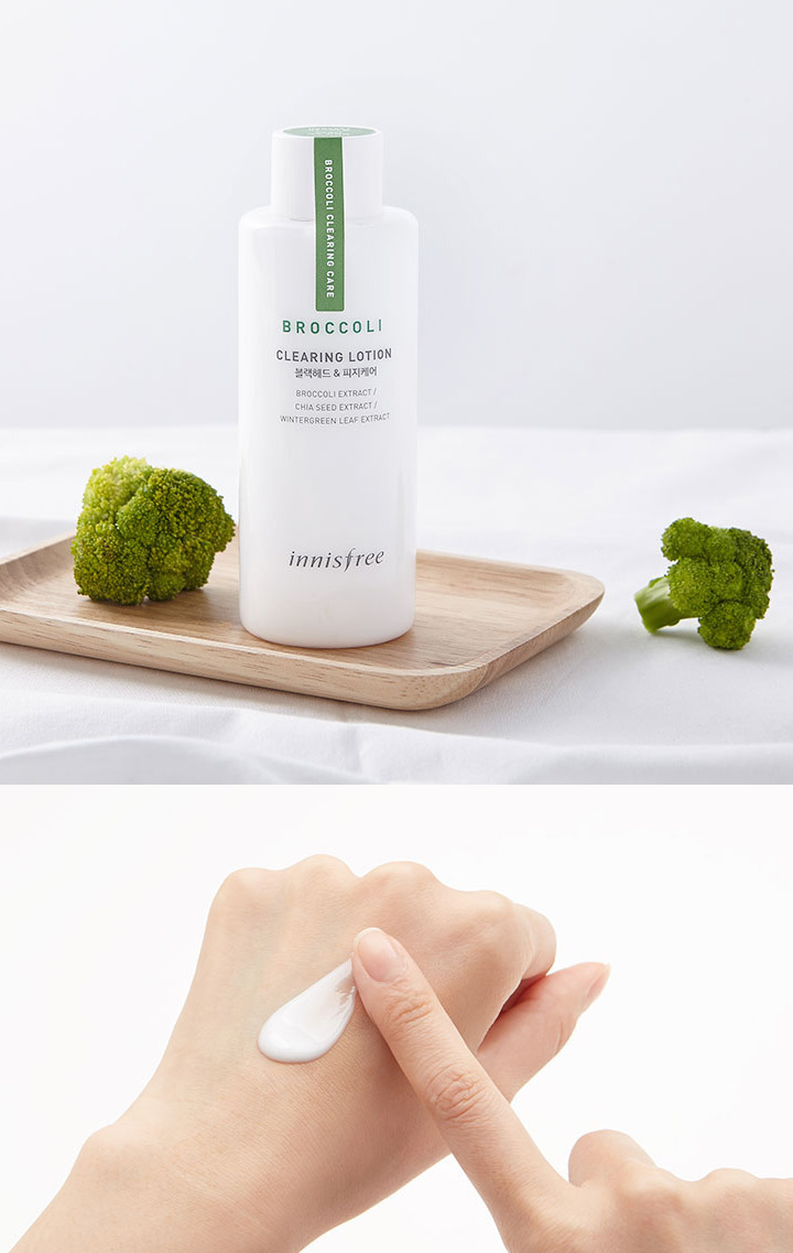 INNISFREE Broccoli Clearing Lotion 130mL – Asian Secrets of Beauty ...