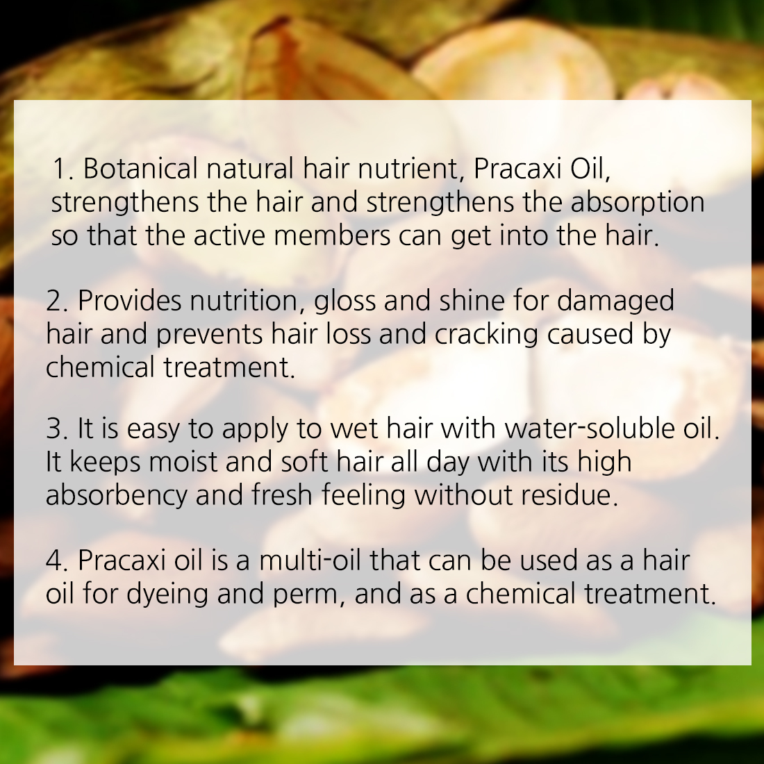 Details about MAKISAKI Pracaxi Hair Oil Natural Concentrate Hair Nutrition  + Styling Oil