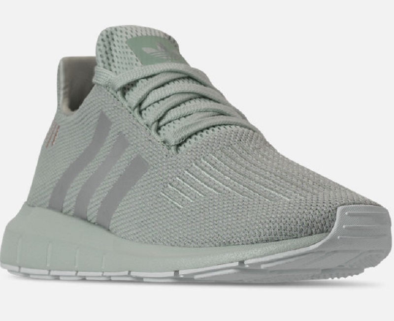 3e49d2777df Details about WOMEN S ADIDAS SWIFT RUN CASUAL SHOES Vapour Green Grey Two  White SFN17-233