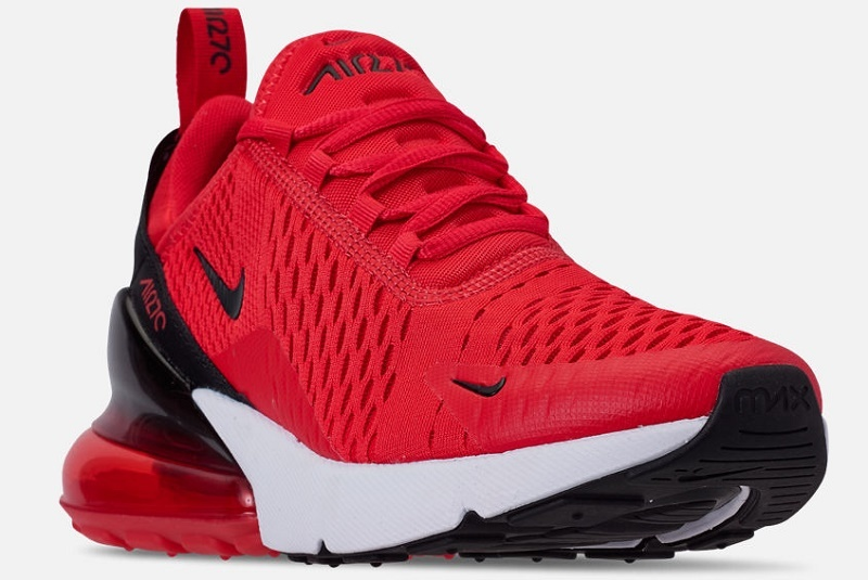 quality design 13ef4 199ed Details about WOMEN'S NIKE AIR MAX 270 CASUAL SHOES Light  Crimson/Black/White SFN17-242