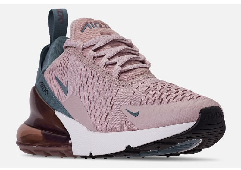 Details about WOMEN'S NIKE AIR MAX 270 CASUAL SHOES Particle Rose/Celestial  Teal/Par SFN17-240