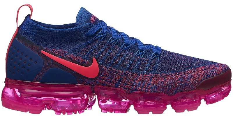 f7eb8aac68a Details about NIKE AIR VAPORMAX FLYKNIT 2 - WOMEN'S Racer Pink/Racer  Blue/Pink Blast SE02-257