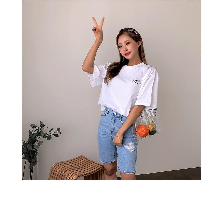 리리앤코 안데스 레터링 티셔츠