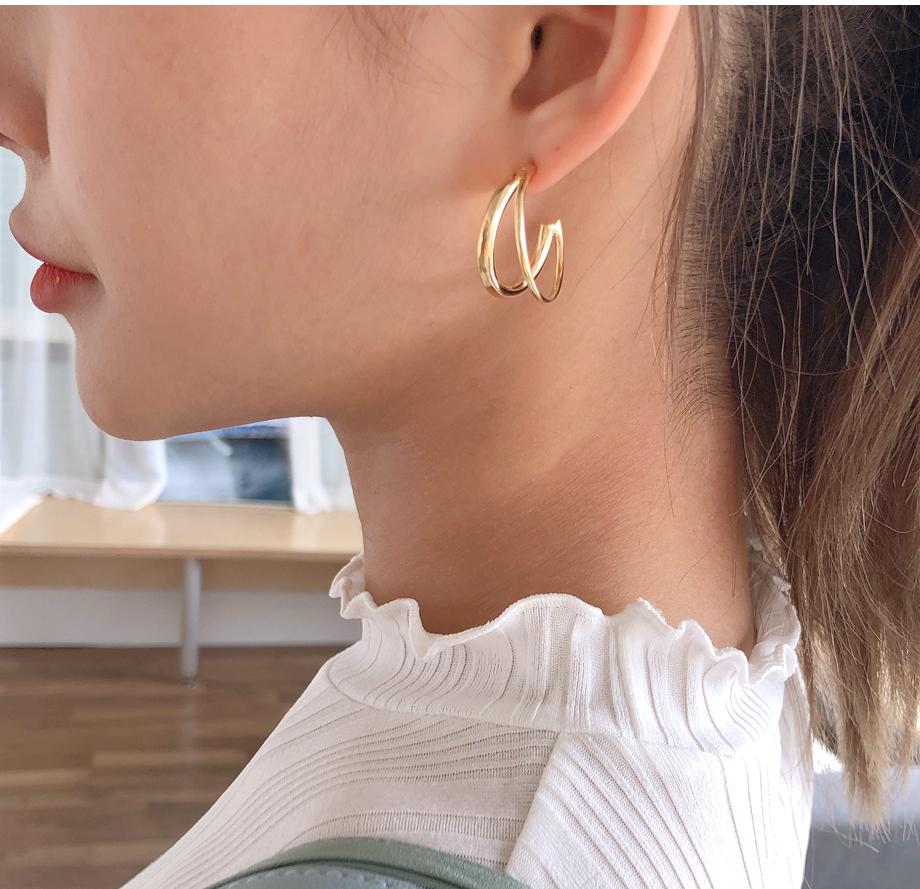 리리앤코 볼디 귀걸이