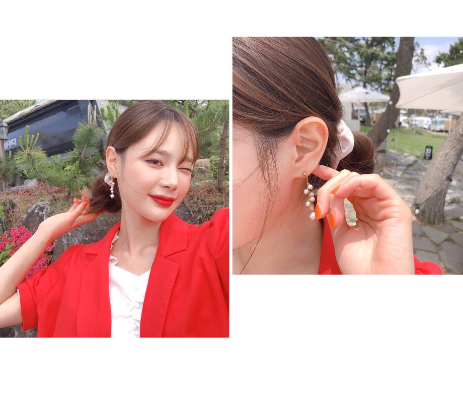 리리앤코 초롱 진주 귀걸이