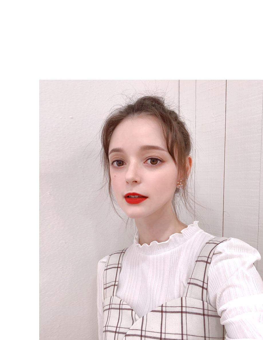 엘피나 체크 숏 원피스