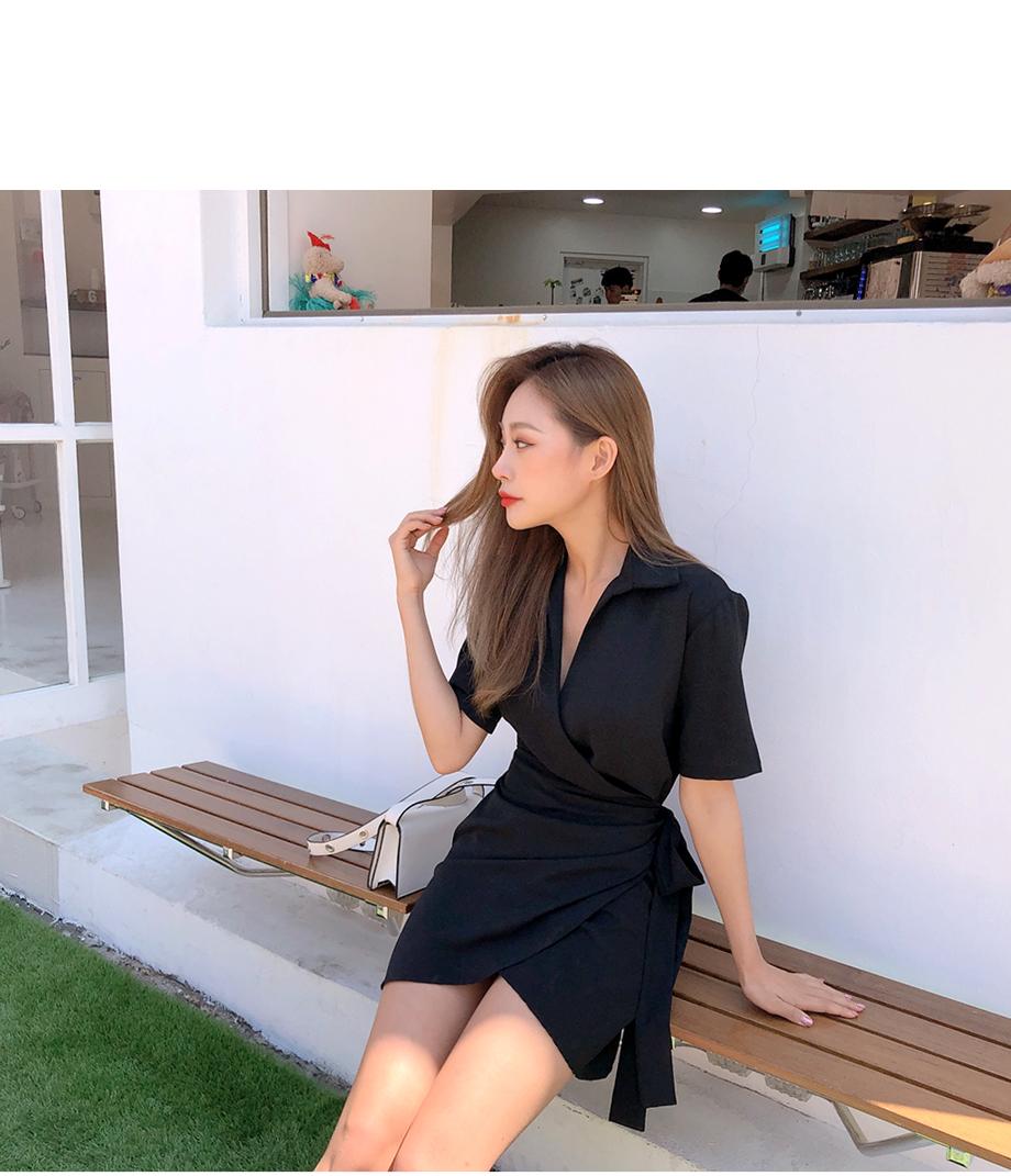 리리앤코 에스멜리다 랩 원피스