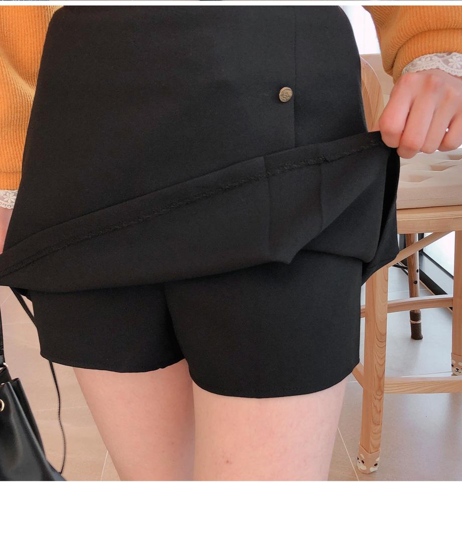 スカート風ショートパンツ