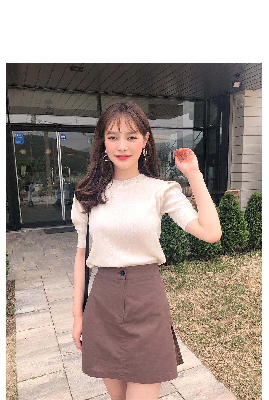 리리앤코 쥬팝 언발 드롭 귀걸이