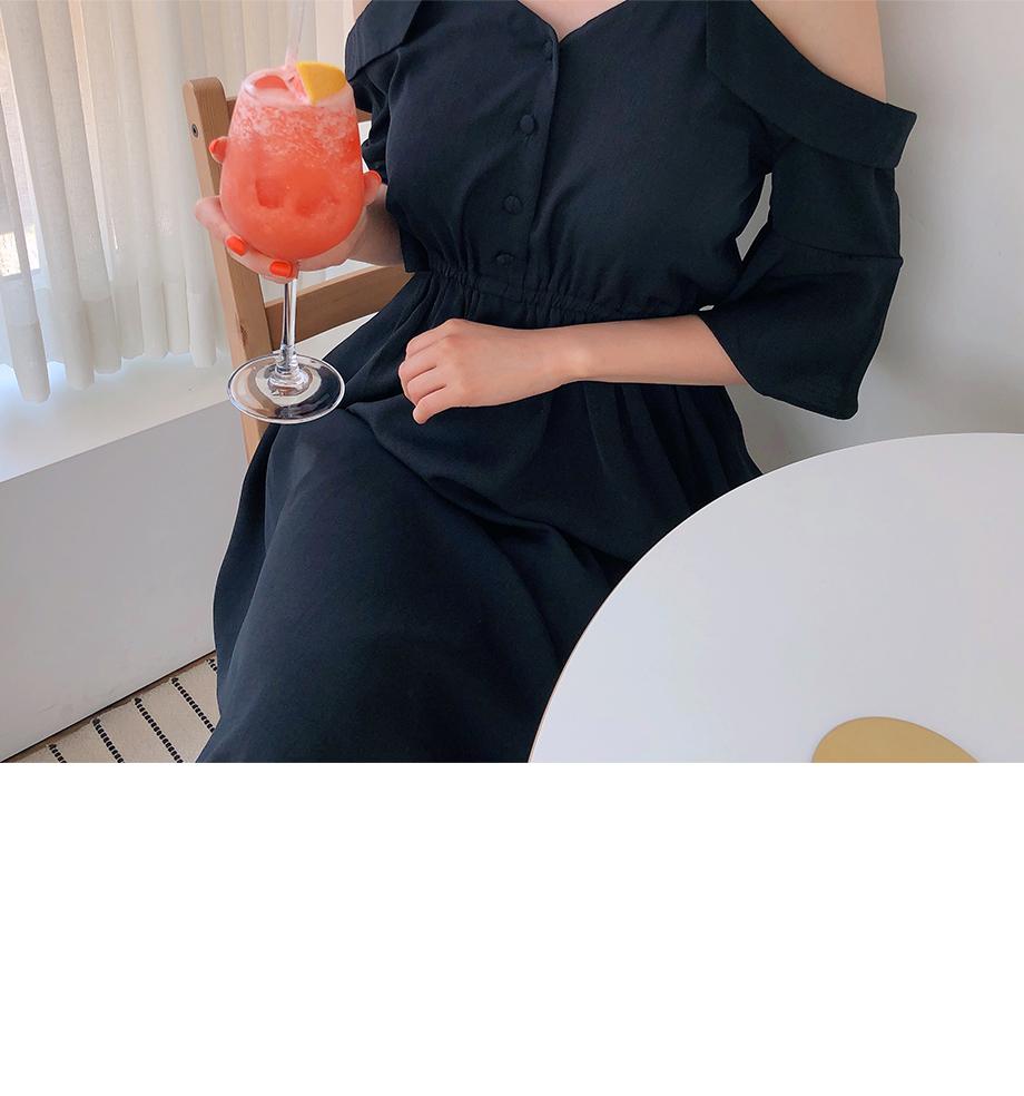 리리앤코 카일리 오프숄더 원피스