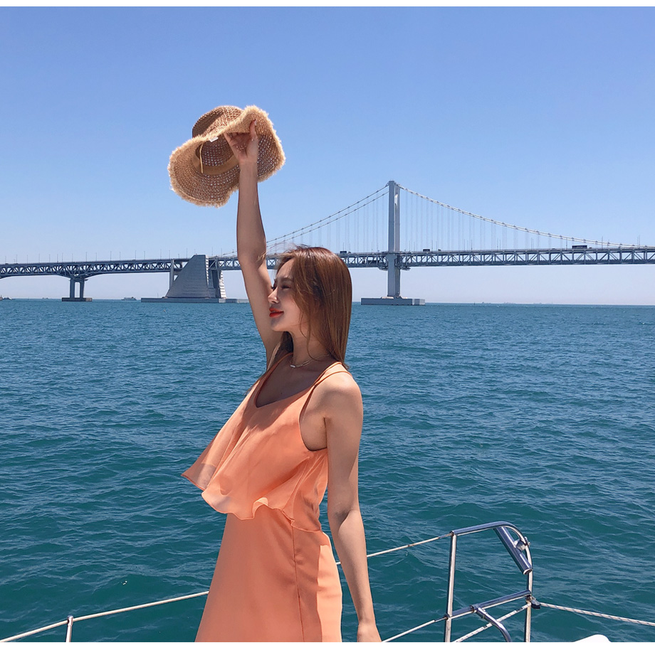 리리앤코 루피루피 라탄 벙거지 모자