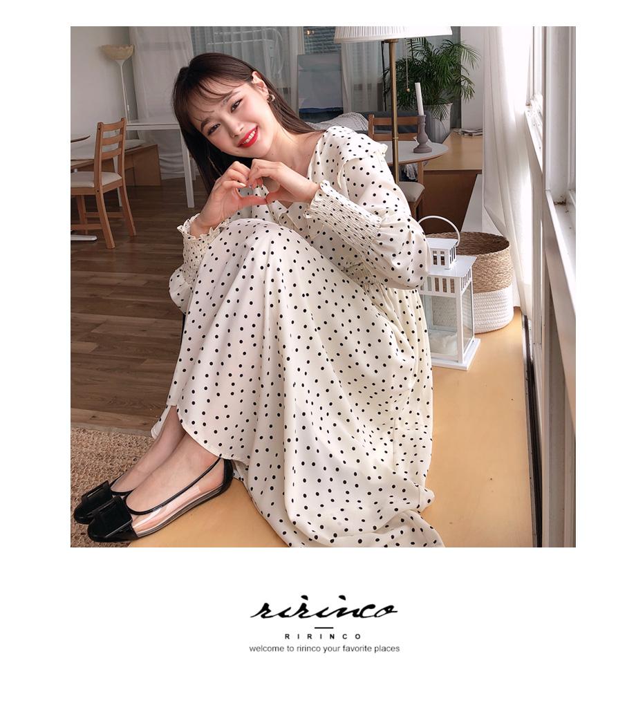 RIIRINCO,PVCミックス フラットシューズ