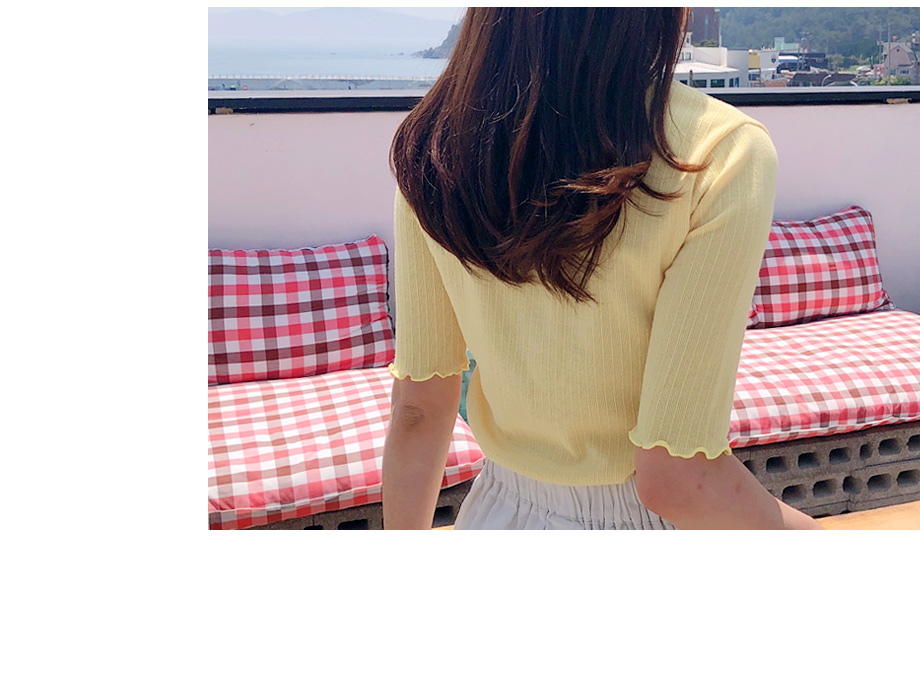 리리앤코 말랑잼 물결 티셔츠