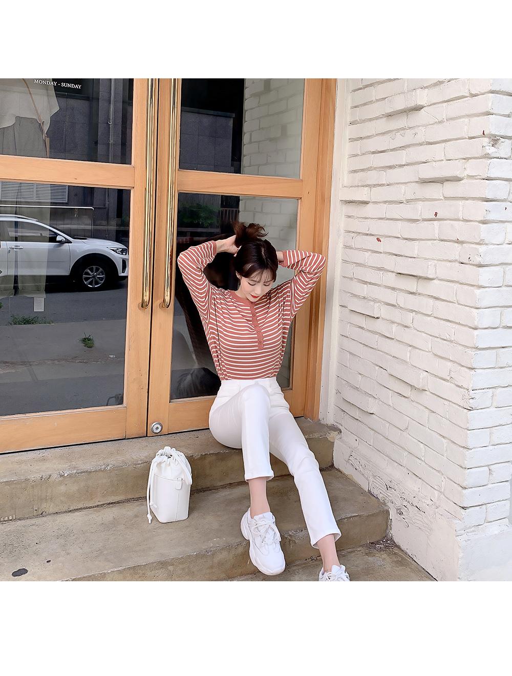 리리앤코 밀크팅 하이웨스트 팬츠