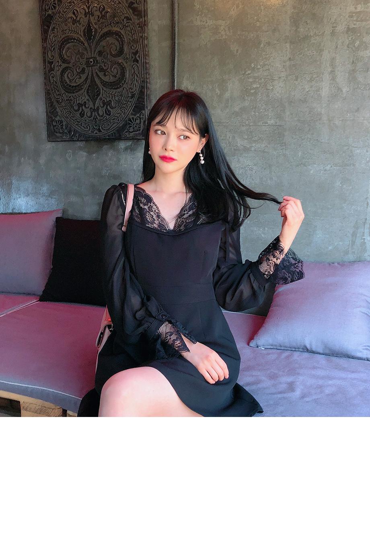 리리앤코 문라잇 레이스 원피스