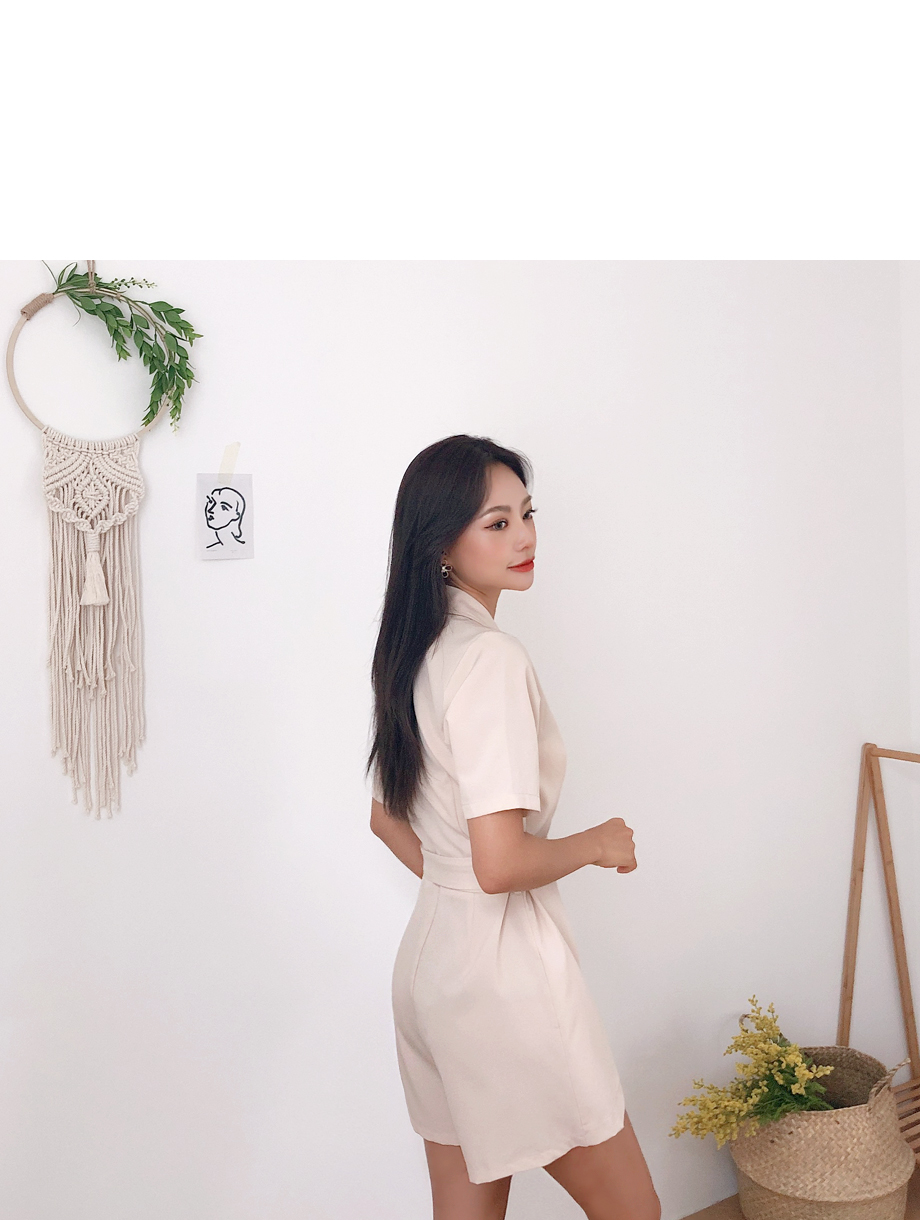 리리앤코 올리 랩 점프수트