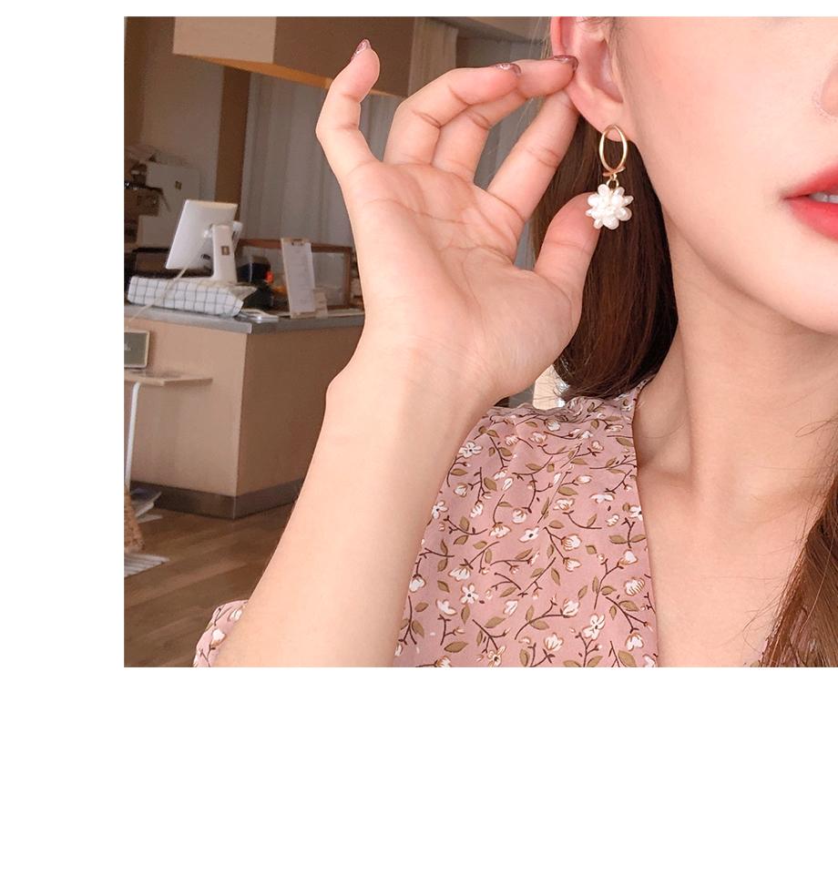 리리앤코 오밍 팬던트 귀걸이