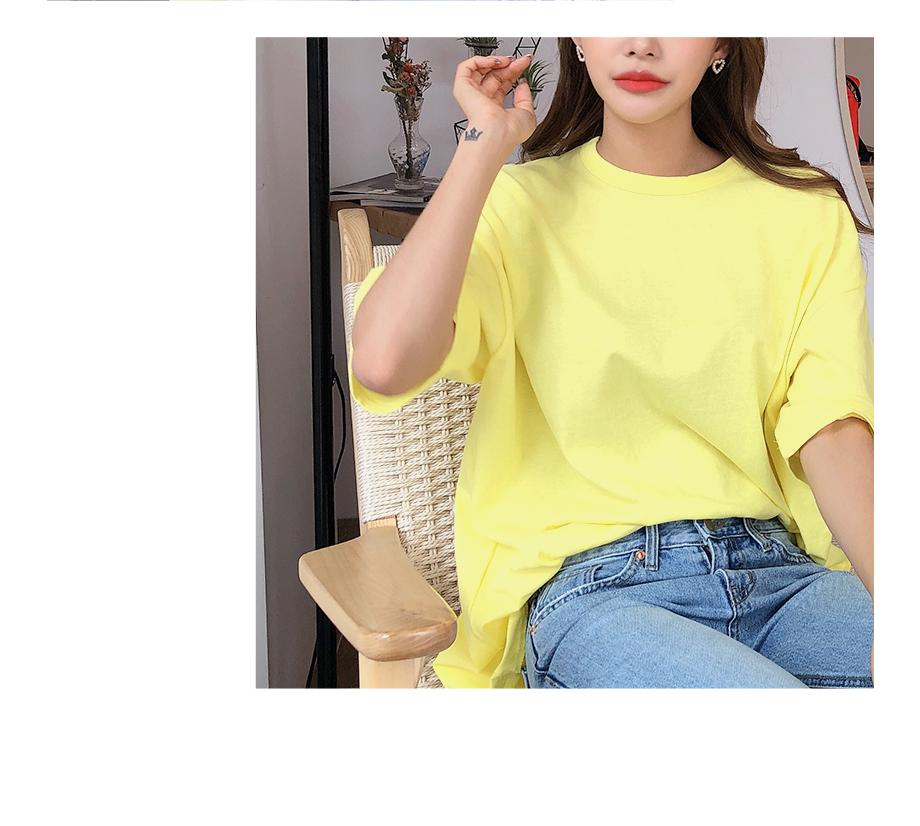 리리앤코 쁘띠첼 비비드 반팔 티셔츠